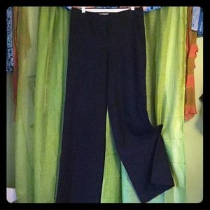 THEORY Plaid Wide Leg Trousers-Size 0